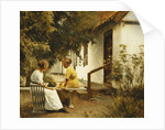 In the Garden, 1913 by Peter Vilhelm Ilsted