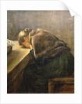 Mourning by Fritz von Uhde