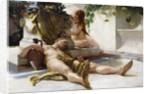 After the Bacchanal, 1898 by Robert Richter
