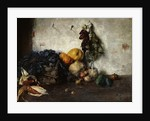 A Still-Life of Vegetables by a Wall, 1890 by Albin Egger-Lienz