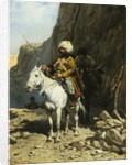 The Cossack by Alfred von Wierusz-Kowalski