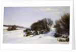 Winter Near the Sea, 1888 by Janus la Cour