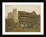 Church and Ancient Uninhabited House at Ludlow, 1871-72 by George Price Boyce