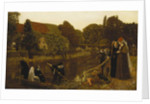 The Convent Boat, 1874 by Arthur Hughes
