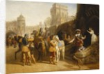 The Countess of Derby's Departure from Martindale Castle, 1842 by John Frederick Herring Snr