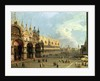 St.Mark's Square, Venice by Canaletto