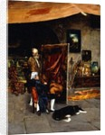 In the Artist's Studio by Charles Frederic Ulrich