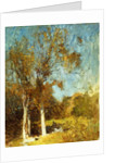 Autumn Trees by Emil Carlsen