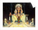 Offering to the Great Spirit by Eanger Irving Couse