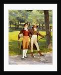 Dandies in the Park by Ignaz-Marcel Gaugengigl