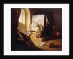 The Sleeping Painter by Josef Danhauser