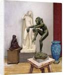 A Sculptor's Studio by Wilhelm Andersen