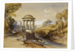St Bernard's Well, Water of Leith, near Edinburgh, Scotland by William Leighton Leitch