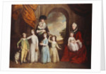A Group Portrait of the Craven Children by Thomas Beach