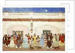 Dancing in the Patio by Pedro Figari