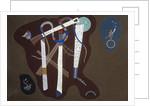Three Pillars by Wassily Kandinsky
