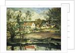 In the Valley of the Oise; Dans la Vallee de L'Oise, 1873-74 by Paul Cezanne