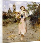 The Grape Harvest by Vicenzo Irolli