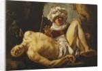 Saint Sebastian tended by Irene, 161- by Cornelius de Beer