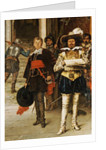 Musketeers of the King, 1885 by Adolphe Alexandre Lesrel