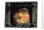 Old Man Peering from Jail, Crime and Punishment by David Gilmour Blythe