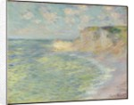 The Cliff Above, 1885 by Claude Monet