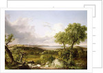 View of Boston by Thomas Cole
