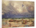 Children on the Beach, c.1910 by William Samuel Horton
