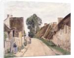 Village Sstreet, Auvers-sur-Oise, 1873 by Camille Pissarro