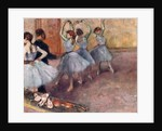 Blue-Toned Dancers, c.1882 by Edgar Degas