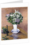 Still Life with a Vase of Lilac, 1883 by Gustave Caillebotte