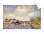 Edges of the Loing, 1885 by Alfred Sisley