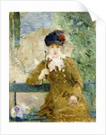 Woman with an Umbrella, 1881 by Berthe Morisot