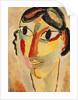 Italian Girl, 1918 by Alexej von Jawlensky