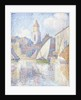 Bell Tower at Saint Tropez, 1896 by Paul Signac