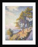 Saint Tropez, The Coastal Path, 1902 by Paul Signac