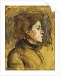 Head of a Woman, 1899 by Henri de Toulouse-Lautrec