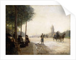 The Champs Elysees, Paris by Victor Gabriel Gilbert