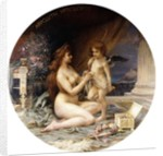 Aphrodite and Eros by Henri-Camille Danger