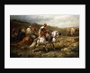 Bedouins on Route by Adolf Schreyer