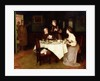 Family at Tea, 1898 by Maurice Grun