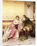 Her Suitor by Joseph Frederick Charles Soulacroix