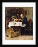 The Bachelor's Birthday by Kaufmann Isidor