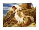 Endymion 'Ah! well-a-day, Why should our young Endymion pine away'-Keats by Briton Riviere