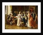 The Music Lesson by Federigo Andreotti