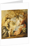 The Holy Family visited by Saints Elizabeth, Zacharias and the Infant Saint John the Baptist by Peter Paul Rubens