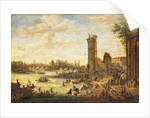 A View of Paris looking toward the Ile de la Cite and the Pont Neuf, 1671-77 by Peeter or Pieter Bout