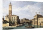 The Grand Canal with San Geremia, Palazzo Labia and the Entrance to the Cannaregio, c.1726-1730 by Canaletto