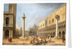The Piazzetta, Venice, looking towards the Piazza San Marco by Luca Carlevaris