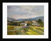 Landschaft in North Austria, 1907 by Egon Schiele